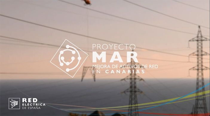 Vídeo about Improvement of network assets in the Canary Islands.