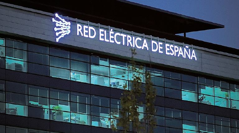Sede de Red Eléctrica en Madrid