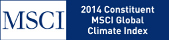 MSCI. 2014 Constituent. MSCI Global Climate Index