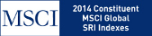 MSCI. 2014 Constituent. MSCI  Global SRI Indexes.