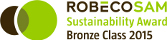 Logo ROBECOSAM Sustainability Award