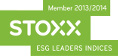 Member 2013 / 2014. STOXX. Esg Leaders Indices.