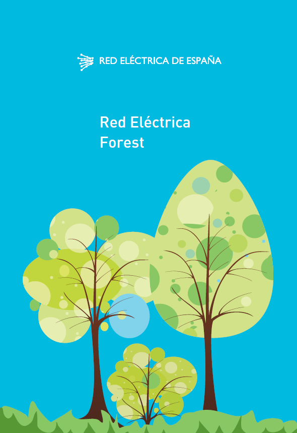 Red Eléctrica Forest cover
