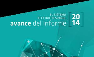 Avance del sistema electrico español 2014.
