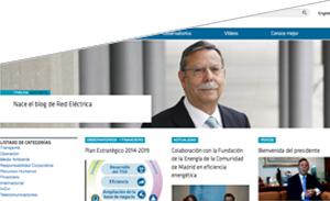 Homepage of blog 'Entrelíneas'
