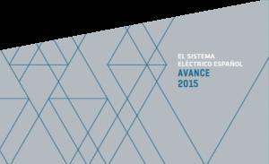 Avance del sistema electrico español 2015.