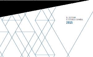 Informe del sistema electrico español 2015.