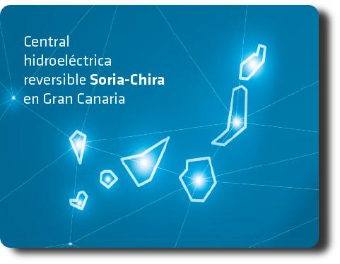 Central hidroeléctrica reversible Soria-Chira en Gran Canaria