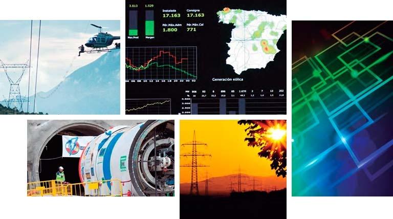 Proyectos de Red Eléctrica Española
