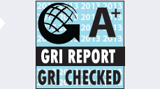 G A+, GRI REPORT, GRI CHECKED