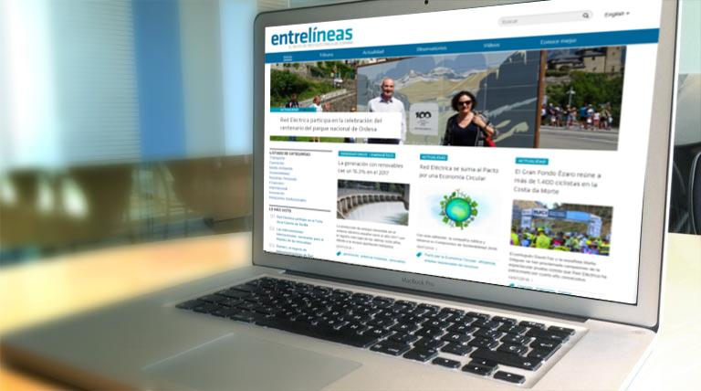 'Entrelíneas' blog