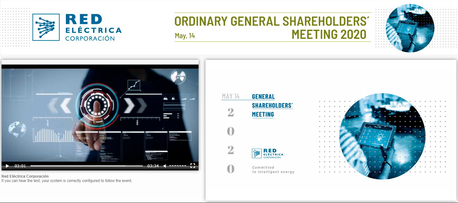 Annual General Shareholders' Meeting 2020