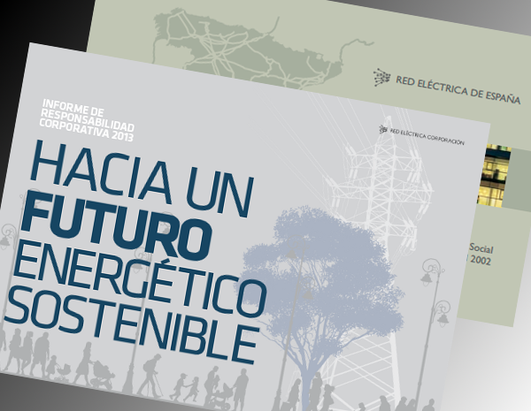 Portadas informe de Responsabilidad Corporativa 2013-2002