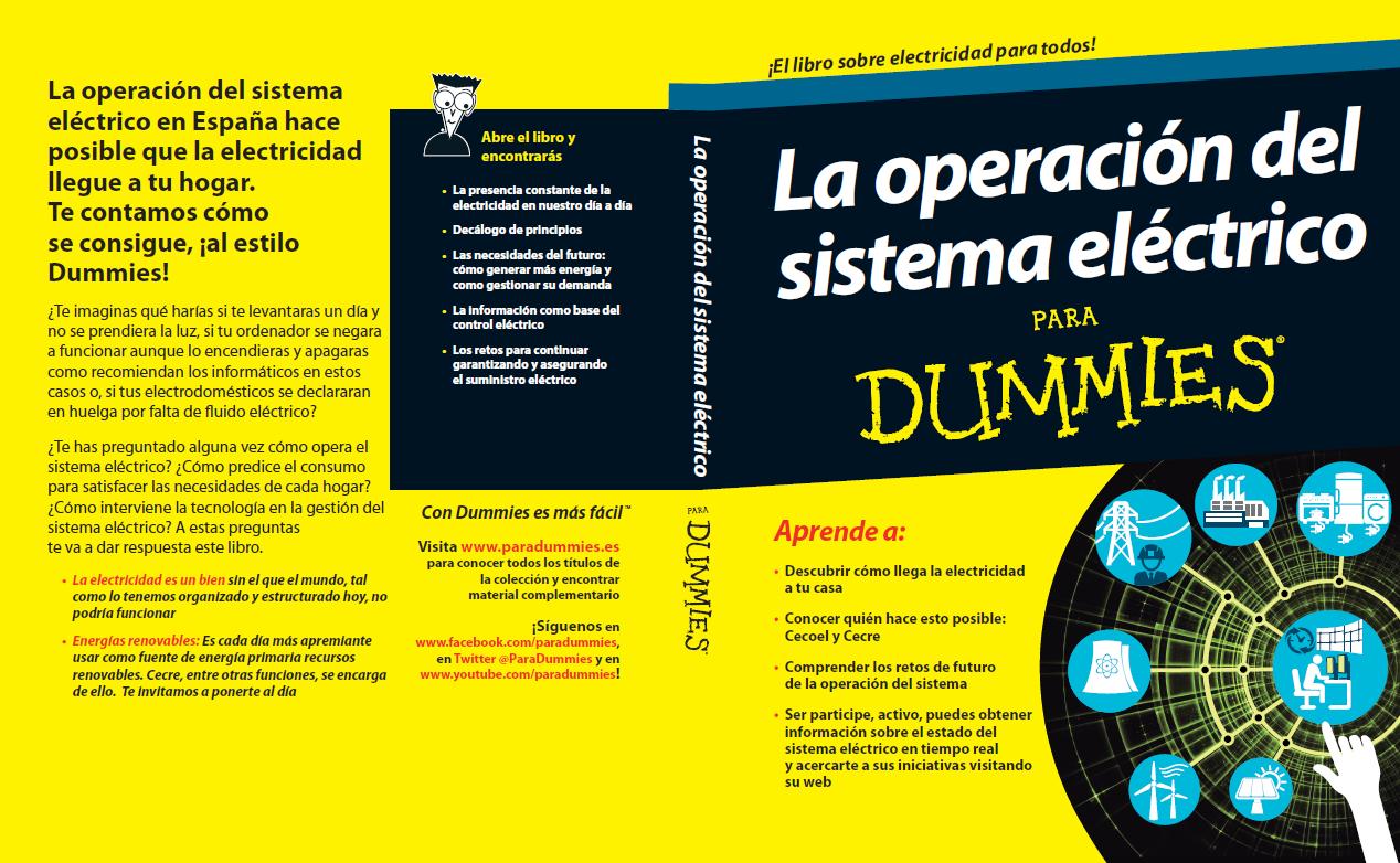 La operación del sistema eléctrico para Dummies