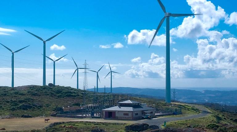 Windmill farm