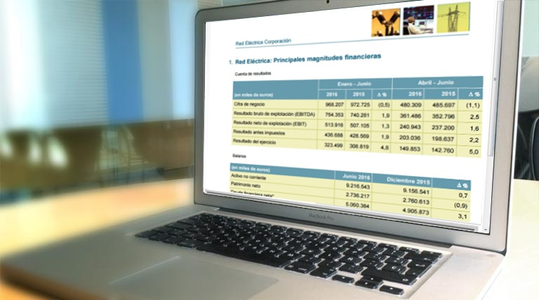 Ir a información financiera