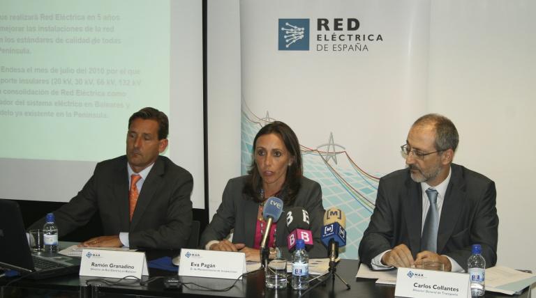 Un momento de la presentación del proyecto MAR en Baleares.