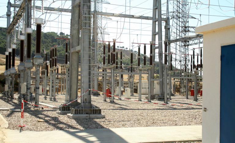 Visita a la subestación eléctrica de Palencia