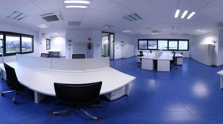 Interior of the Ribadavia Maintenance Centre (Orense)