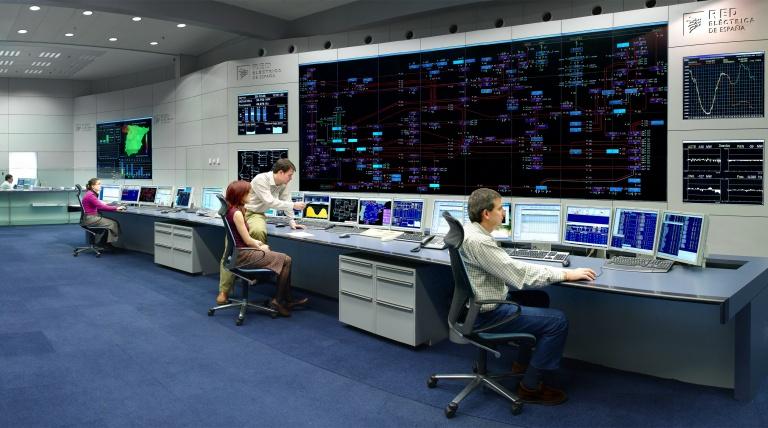 Centro de Control Eléctrico (Cecoel) de Red Eléctrica de España