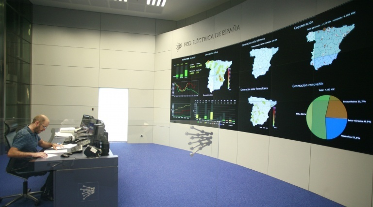 Cecre is the control centre from which the generation of renewable energy producers installed in Spain is managed and controlled and it allows the maximum amount of generation from renewable energy sources, especially wind energy, to be integrated into the electricity system under secure conditions.