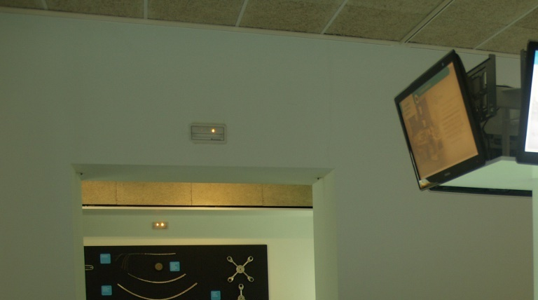 Display model showing the electricity system.