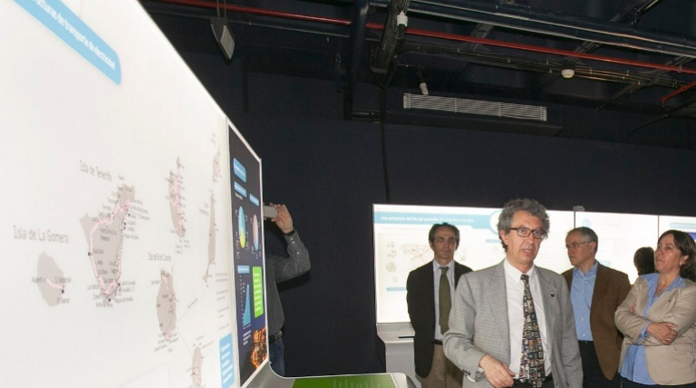 Module on the planning of the transmission grid in the Canary Islands.