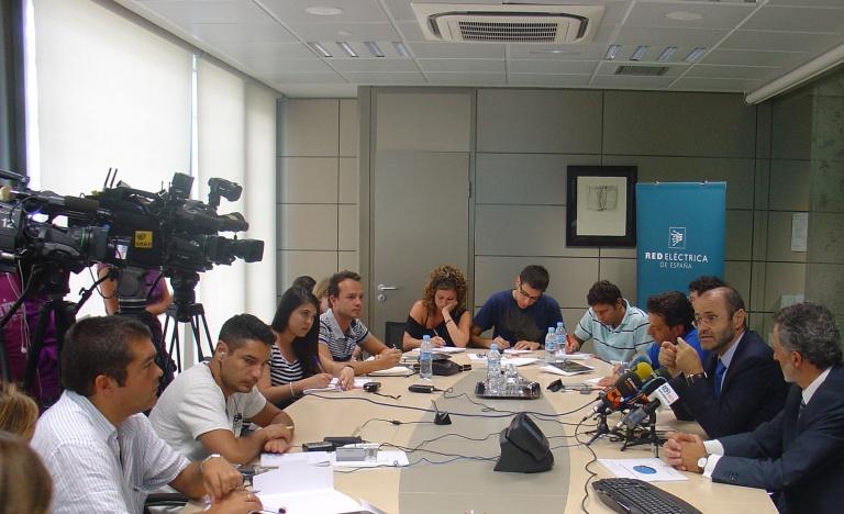 Fotografía de la rueda de prensa