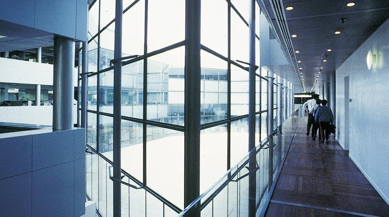 Interior de la sede central de REE