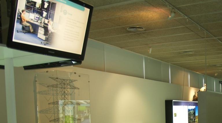 Display model showing the exhibit.