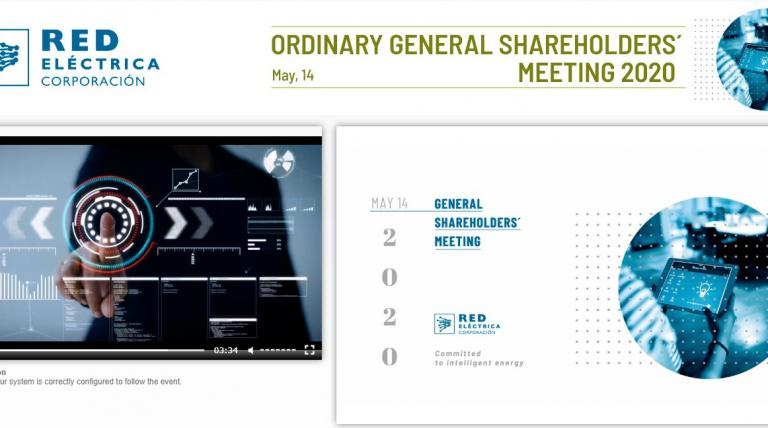 "Webcast ""Annual General Shareholders' Meeting 2020"""