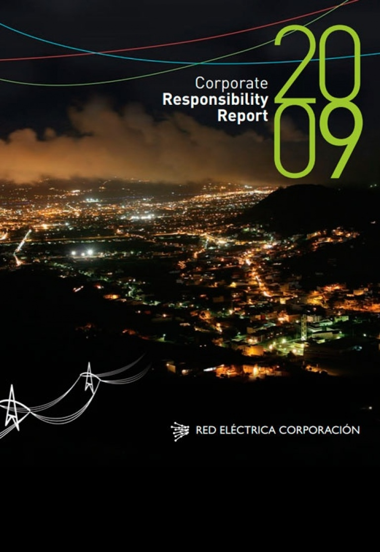 Front cover of Corporate Responsibility Report 2009