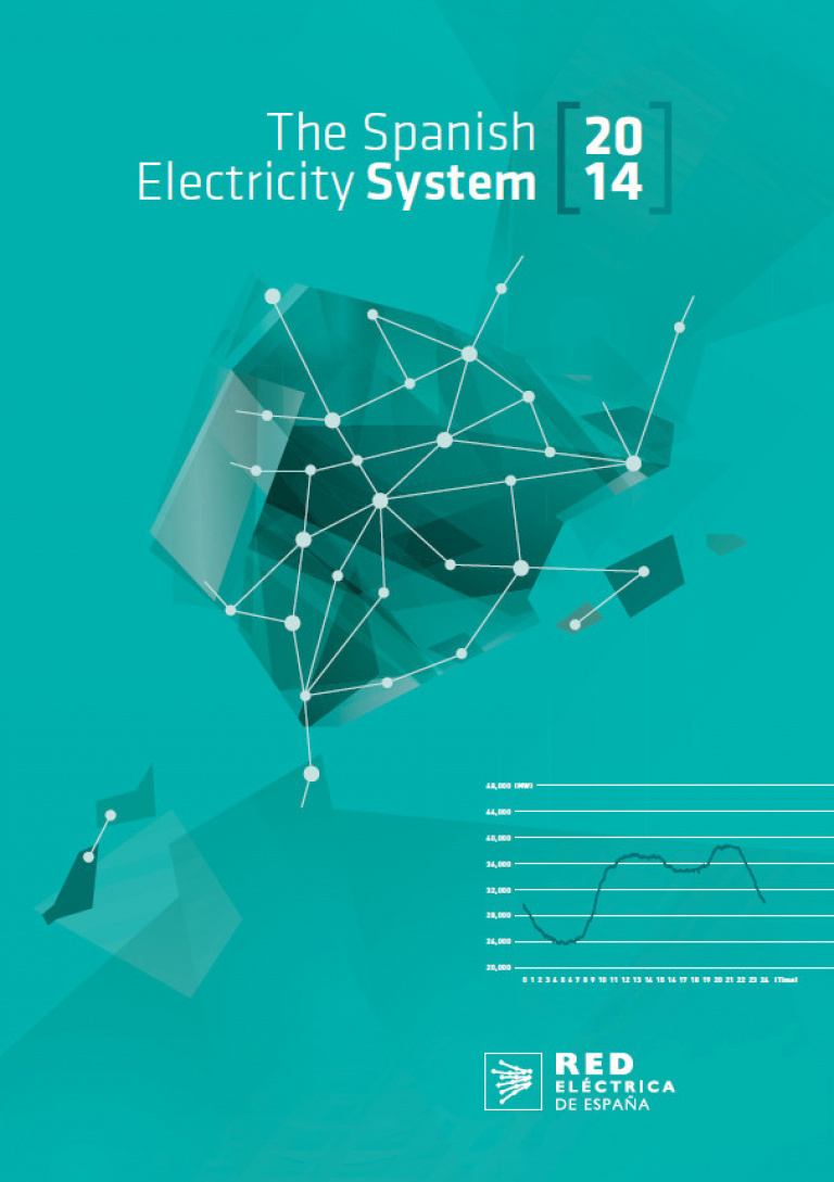 The Spanish Electricity System 2014. Cover.