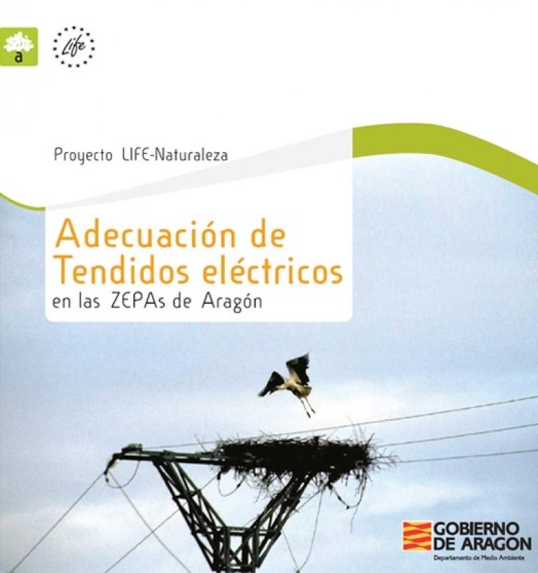 Portada de 'Adecuación de tendidos eléctricos'