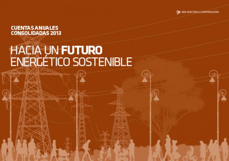 Portada del Informe de Cuentas Anuales Consolidadas 2013