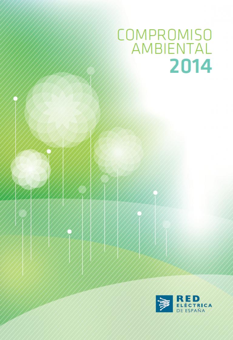 """Portada de """"Compromiso ambiental 2014"""""""