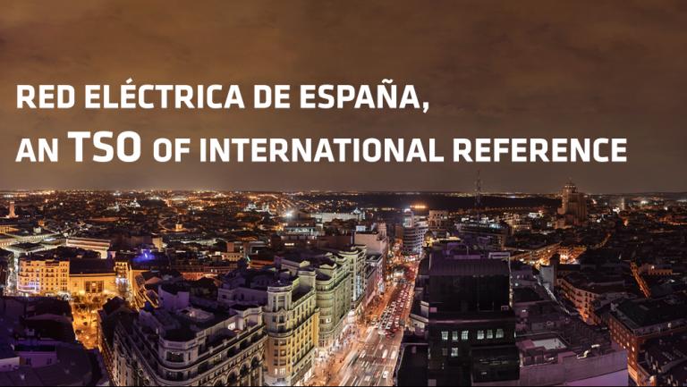 Red Eléctrica de España, an TSO of international reference