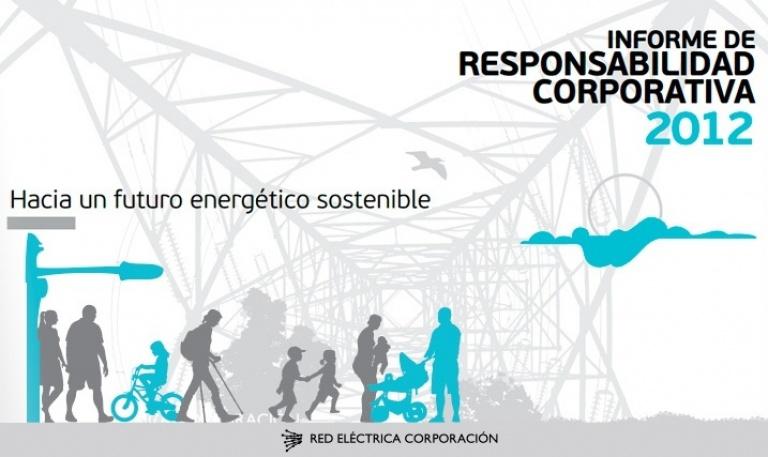 Portada del Informe de Responsabilidad Corporativa de 2012