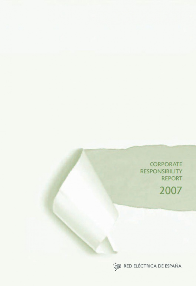 Front cover of Corporate Responsibility Report 2007