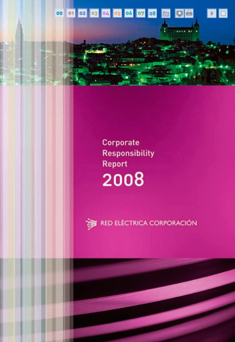 Front cover of Corporate Responsibility Report 2008