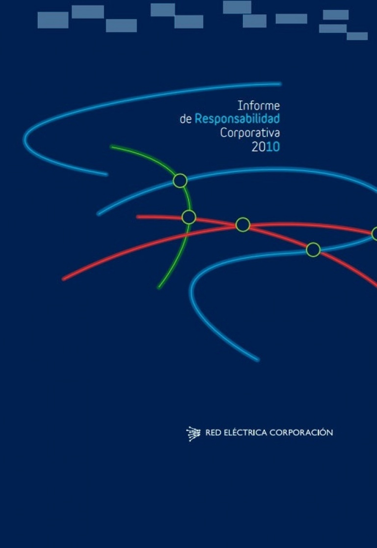 Portada del Informe de Responsabilidad Corporativa de 2010