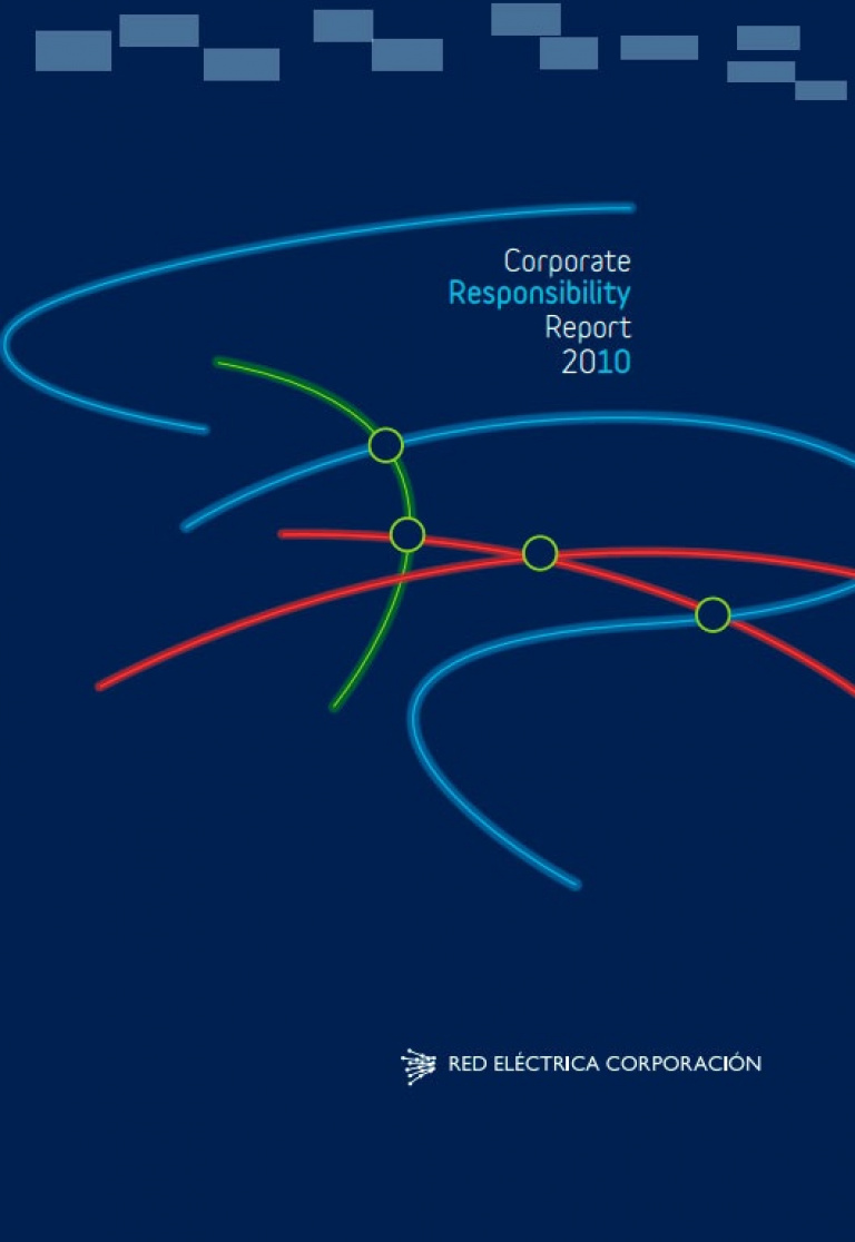 Front cover of Corporate Responsibility Report 2010