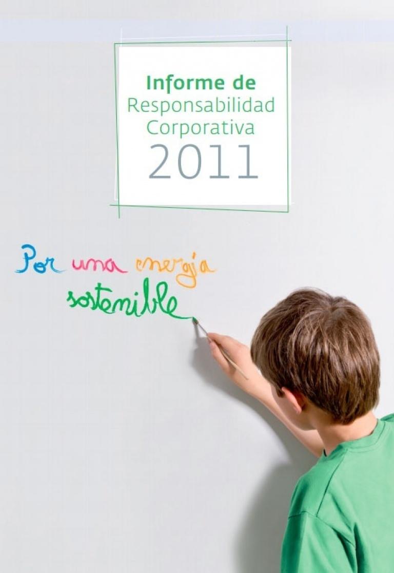 Portada del Informe de Responsabilidad Corporativa de 2011