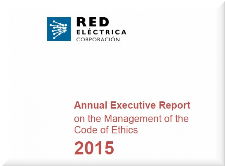 Annual Executive Report on the Management of the Code of Ethics 2015