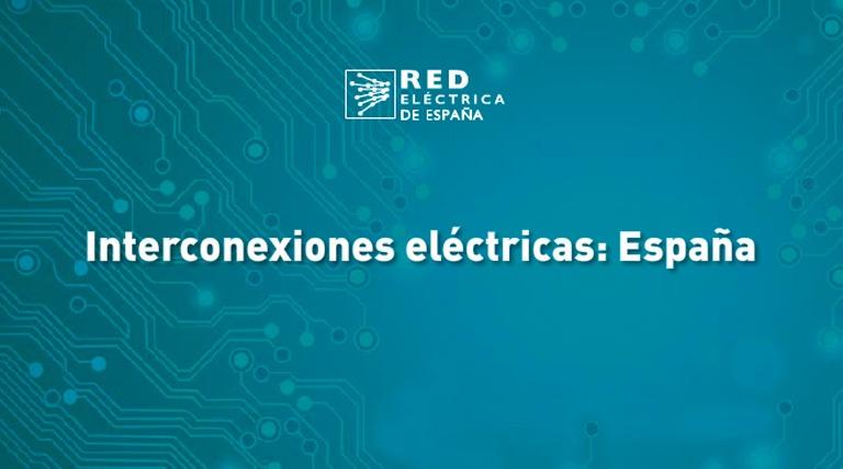 Interconexiones eléctricas: España