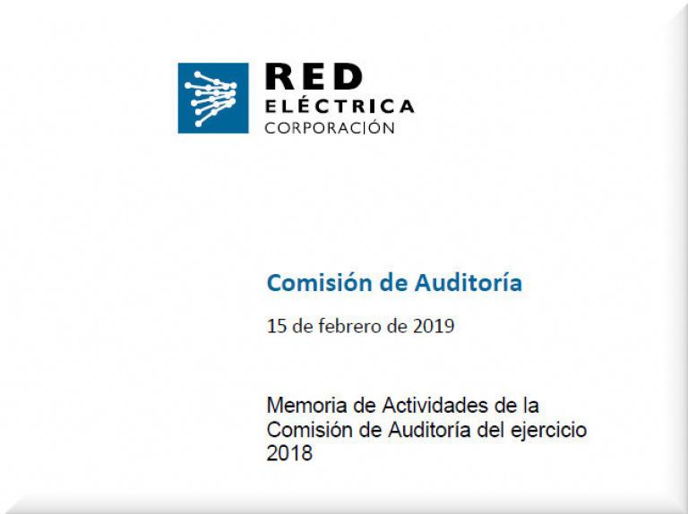 Ir a la memoria de Actividades de la Comisión de Auditoría