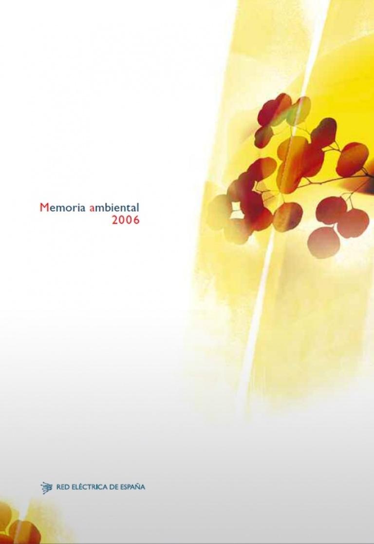 Portada de 'Memoria ambiental 2006'