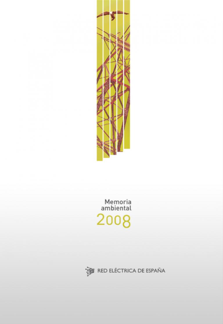 Portada de 'Memoria ambiental 2008'