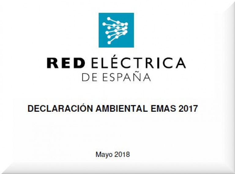 """Portada de """"Declaración ambiental 2017"""""""