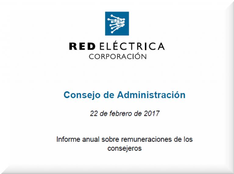 Informe anual remuneraciones
